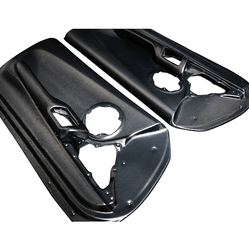 Toyota Supra Carbon Fiber Door Card Panels